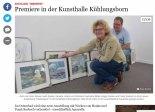 Ausstellung Farbenspiel in der Kunsthalle Kühlungsborn - in der SVZ 2019 03 13