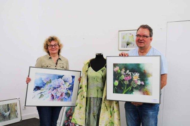 Hanka & Frank Koebsch posieren für die Presse (c) Sabine Hügelland (3)
