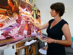 Susanne Mull - Atelierfoto
