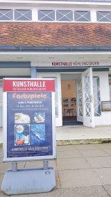 Einblick in die Ausstellung Farbspiele der Kunsthalle Kühlungsborn (c) Frank Koebsch