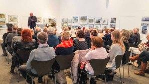 Franz N. Kröger eröffnet unsere Ausstellung in der Kunsthalle Kühlungsbon (c) Frank Koebsch (2)