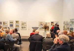 Gäste bei der Eröffnung unserer Ausstellung Farbspiele (c) Frank Koebsch (5)