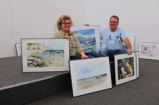 Hanka & Frank Koebsch posieren für die Presse (c) Sabine Hügelland (2)