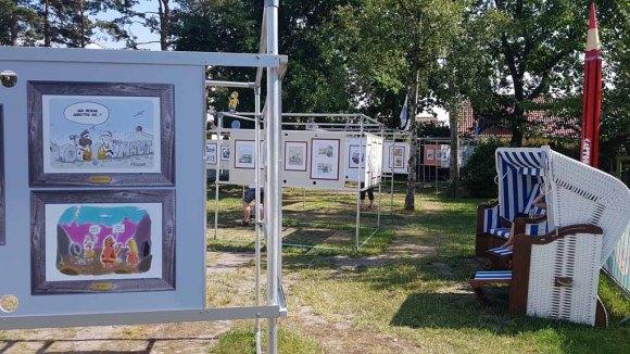 Schnappschüsse vom Cartoon Festival in Prerow 2018 (c) Frank Koebsch (1)