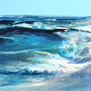y Abstrakte Landschaft - Diptychon (2016) - rechts
