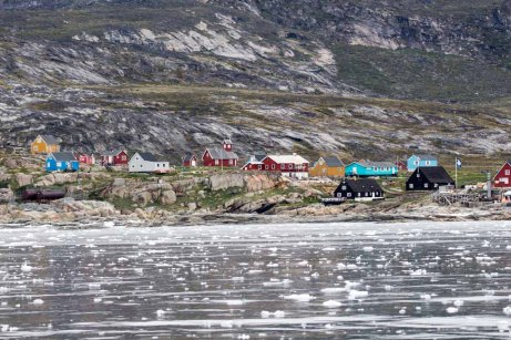 Blick auf Ilimanaq in der Disko Bucht (1) FRank Koebsch
