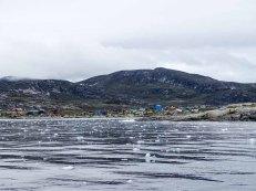 Blick auf Ilimanaq in der Disko Bucht (2) Hanka Koebsch