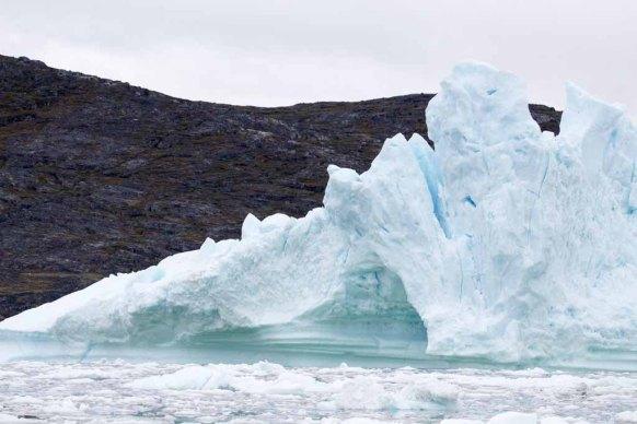 Eisberge vor Ilimanaq in der Disko Bucht (4) Frank Koebsch