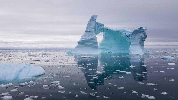 Eisberge vor Ilimanaq in der Disko Bucht (5) Frank Koebsch