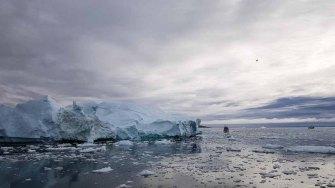 Eisberge vor Ilimanaq in der Disko Bucht (6) Frank Koebsch