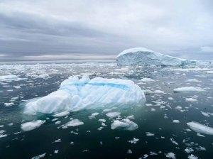Treibeis vor Ilimanaq in der Disko Bucht (2) Frank Koebsch