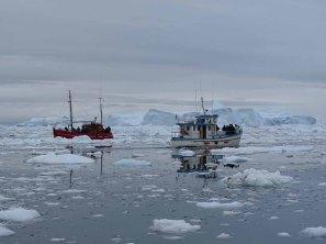 Wir entdecken das Grönland Eis in der Disko Bucht (8) Hanka Koebsch