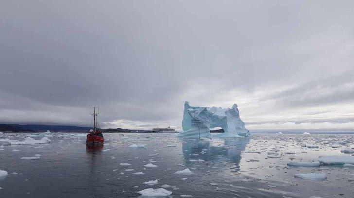 Wir erkunden mit einem Kutter vor Ilimanaq die Disko Bucht (4) Frank Koebsch
