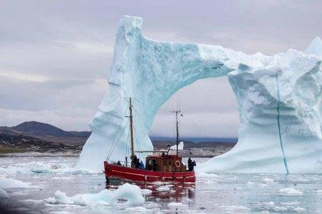 Wir erkunden mit einem Kutter vor Ilimanaq die Disko Bucht (6) Frank Koebsch