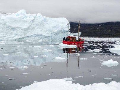 Wir erkunden mit einem Kutter vor Ilimanaq die Disko Bucht (7) Hanka KOebsch