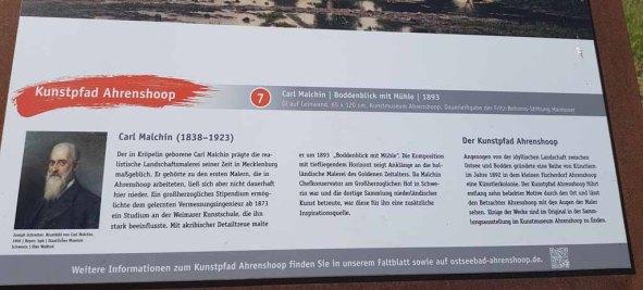 Auf den Spuren von Carl Malchin in Ahrenshoop (c) FRank Koebsch (3)