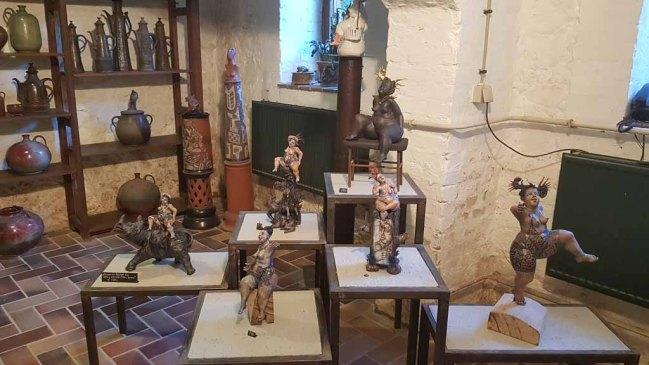 Blick in die Keramikwerkstatt von Friedemann Henschel (c) Frank Koebsch
