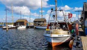 Boote im Hafen von Gager © Frank Koebsch (2)