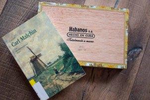 Carl Malchin hat Zigarrenkisten bemalt (c) Frank Koebsch (2)