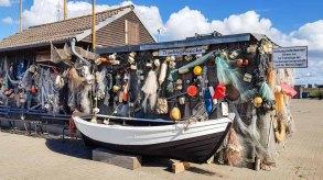 Die Traditionsecke im Hafen von Gager © Frank Koebsch