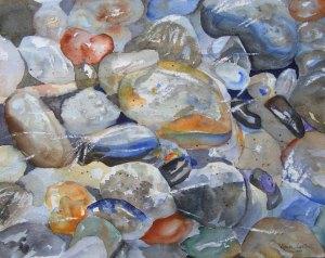 Ein bisschen Ewigkeit (c) Aquarell von Hanka Koebsch
