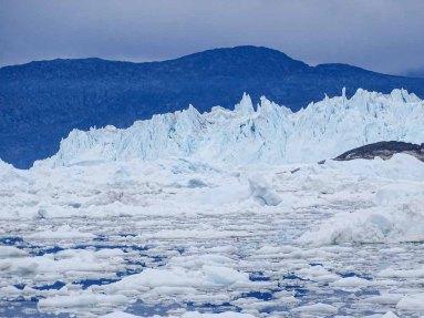 Eqi-Gletscher vor Ilimanaq in der Disko Bucht (1) Hanka Koebsch