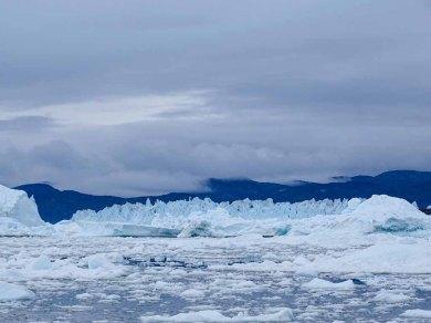 Eqi-Gletscher vor Ilimanaq in der Disko Bucht (2) Hanka Koebsch