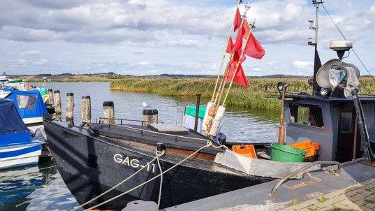 Fischkutter GAG 11 im Hafen von Gager © Frank Koebsch (3)