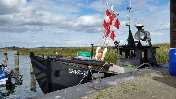 Fischkutter im Hafen von Gager (c) Marina Erfurth