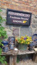Kunst offen in der Keramikwerkstatt von Friedemann Henschel (c) Frank Koebsch