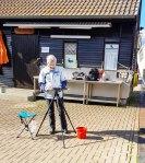Malen im Hafen von Gager © Frank Koebsch (4)