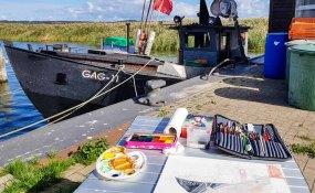 Unser Motiv der Fischkutter GAG 11 im Hafen von Gager © Frank Koebsch (1)