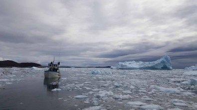 Wir entdecken das Grönland Eis in der Disko Bucht (3) Frank Koebsch