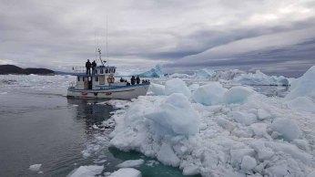 Wir entdecken das Grönland Eis in der Disko Bucht (4) Frank Koebsch