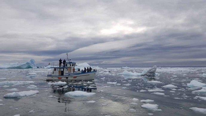 Wir entdecken das Grönland Eis in der Disko Bucht (5) Frank Koebsch