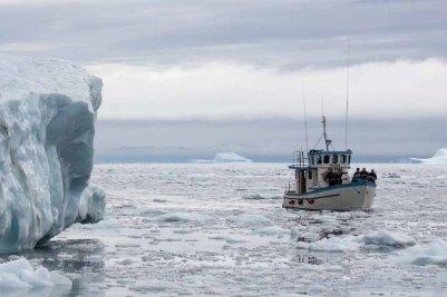Wir entdecken das Grönland Eis in der Disko Bucht (9) FRank Koebsch