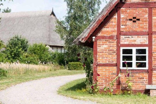 Bauernhaus Selmsdorf im Frei lichtmuseum Klockenhagen (c) FRank Koebsch