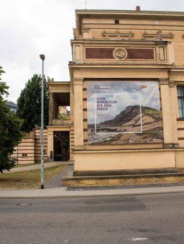 Die Ausstellung - Von Barbizon bis ans Meer. Carl Malchin und die Entdeckung Mecklenburgs - im Staatlichen MUseum Schwerin (c) FRank Koebsch (1)