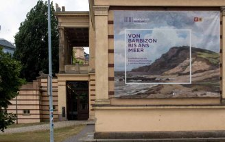 Die Ausstellung - Von Barbizon bis ans Meer. Carl Malchin und die Entdeckung Mecklenburgs - im Staatlichen MUseum Schwerin (c) FRank Koebsch (2)