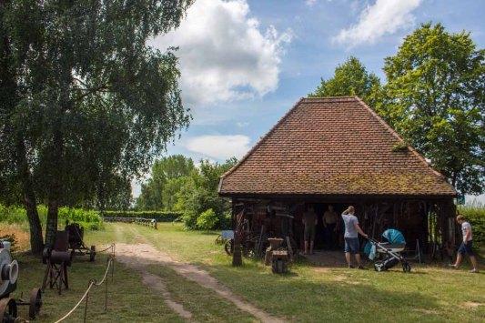 Die Schmiede Groß Lantow im Freilichtmuseum Klockenhagen (c) FRank Koebsch