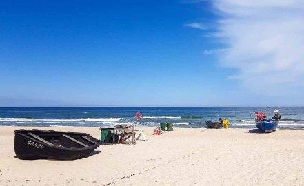 Fischer am Strand von Baabe - Malreise Faszination Rügen (c) FRank Koebsch (6)