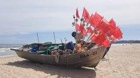 Fischerboot am Strand von Baabe - Malreise Faszination Rügen (c) FRank Koebsch (1)