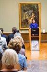 Frau Dr. Pirko Kristin Zinnow eröffnet die Ausstellung - Von Barbizon bis ans Meer. Carl Malchin und die Entdeckung Mecklenburgs © Frank Koebsch (2)
