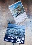 Kalender 2020 mit Aquarellen von Hanka und Frank Koebsch