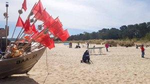 Malen am Strand von Baabe - Malreise Faszination Rügen (c) FRank Koebsch (7)