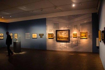 Schnappschüsse von der Preview der Ausstellung - Von Barbizon bis ans Meer. Carl Malchin und die Entdeckung Mecklenburgs © Frank Koebsch (1)