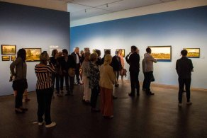 Schnappschüsse von der Preview der Ausstellung - Von Barbizon bis ans Meer. Carl Malchin und die Entdeckung Mecklenburgs © Frank Koebsch (2)