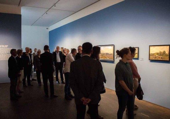 Schnappschüsse von der Preview der Ausstellung - Von Barbizon bis ans Meer. Carl Malchin und die Entdeckung Mecklenburgs © Frank Koebsch (3)