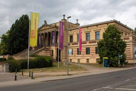 Staatliche Museum Schwerin mit der Ausstellung zu Carl Malchin (c) FRank Koebsch (2)