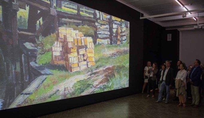 Studenten der Hochschule Wismar haben die Bilder von Carl Malchin zum Leben erweckt © Frank Koebsch (1)